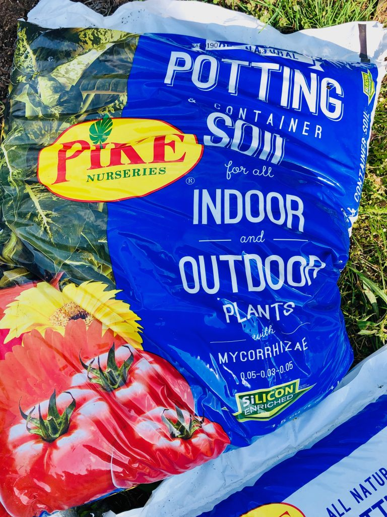 pike nurseries potting soil